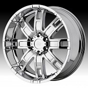 Helo HE835 835 Chrome Custom Rims Wheels