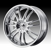 Helo HE845 845 Chrome Custom Rims Wheels