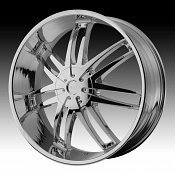Helo HE868 868 Chrome Custom Rims Wheels