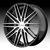 Helo HE880 Gloss Black Machined Face Custom Rims Wheels