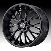 Helo HE890 Satin Black Custom Wheels Rims