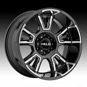 Helo HE914 Gloss Black Machined Custom Wheels Rims