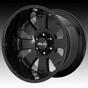 Helo HE917 Gloss Black Custom Wheels Rims