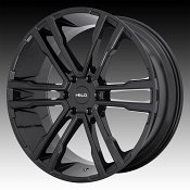 Helo HE918 Gloss Black Custom Wheels Rims