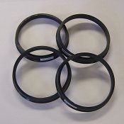 Hub Centric Rings for Cars - (Set of 4)