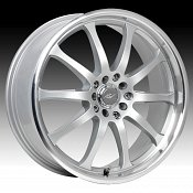 ICW Racing 211MS 211 Bonzai Titanium Silver w/ Machined Custom R