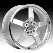ICW Racing 212MS 212 Kyoto Titanium Silver w/ Machined Custom Ri