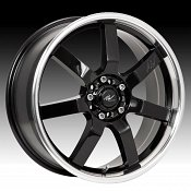 ICW Racing 213MB 213 Osaka Gloss Black w/ Machined Custom Rims W