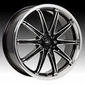 ICW Racing 214MB 214 Tsunami Gloss Black w/ Machined Custom Rims