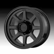 KMC KM301 Turbine Black Custom Wheels Rims