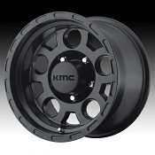 KMC KM522 Enduro Matte Black Custom Wheels Rims