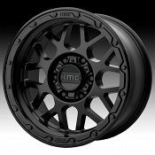 KMC KM535 Grenade Off-Road Matte Black Custom Wheels Rims