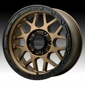 KMC KM535 Grenade Off-Road Matte Bronze Custom Wheels Rims