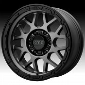 KMC KM535 Grenade Off-Road Matte Gray Custom Wheels Rims