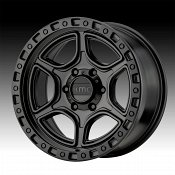 KMC KM539 Portal Satin Black Custom Wheels Rims