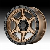 KMC KM539 Portal Matte Bronze Custom Wheels Rims