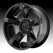 KMC XD Series XD811 RS2 Rockstar II Satin Black Custom Wheels Ri
