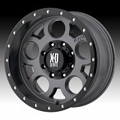 KMC XD Series XD126 Enduro Pro Satin Gray Custom Wheels Rims
