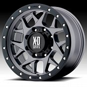 KMC XD Series XD127 Bully Satin Gray Custom Wheels Rims