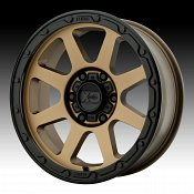KMC XD Series XD134 Addict 2 Matte Bronze Custom Wheels Rims