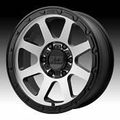 KMC XD Series XD134 Addict 2 Machined Black Custom Wheels Rims