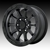 KMC XD Series XD143 RG3 Satin Black Custom Wheels Rims