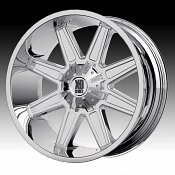 KMC XD Series XD823 Trap Chrome Custom Wheels Rims