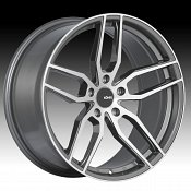 Konig Interform IF Machined Graphite Custom Rims Wheels