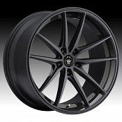 Konig Oversteer OS Gloss Black Custom Rims Wheels