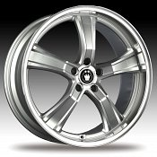 Konig Airstrike 27MS AS Silver w/ Machined Face Custom Rims Whee