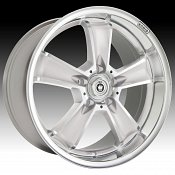 Konig Beyond 49MS BE Silver w/ Machined Face Custom Rims Wheels