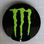 LENS-648MB-8-MG / Monster Energy Gloss Black Pop-Out Center Cap