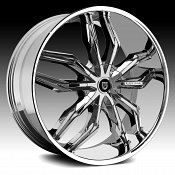 Lexani Arte Chrome Custom Wheels Rims