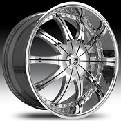 Lexani CS2 Chrome Custom Rims Wheels