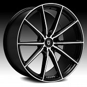 Lexani CSS-10 Gloss Black Machined Custom Wheels Rims