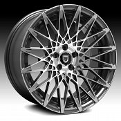 Lexani CSS-16 Gunmetal Machined Custom Wheels Rims