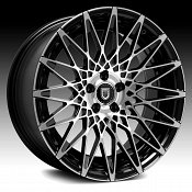 Lexani CSS-16 Gloss Black Machined Custom Wheels Rims