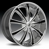 Lexani LX-19 Snyper Chrome Custom Wheels Rims