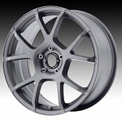 Motegi Racing MR121 121 Titanium Gray Custom Rims Wheels