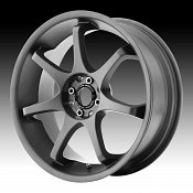 Motegi Racing MR125 125 Titanium Gray Custom Rims Wheels