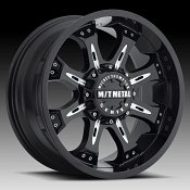 Mickey Thompson Metal Series MM164B Black Milled Custom Wheels R