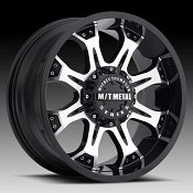 Mickey Thompson Metal Series MM164M Machined Black Custom Wheels
