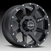 Mickey Thompson Metal Series MM366 Matte Black Custom Wheels Rim