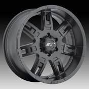 Mickey Thompson Sidebiter II Matte Black Custom Wheels Rims