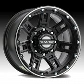 Mickey Thompson Sidebiter Lock Satin Black Wheels Rims