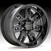 Mickey Thompson Sidebiter Black Custom Rims Wheels