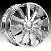 Maas 030C 030 Coventry Chrome Custom Rims Wheels