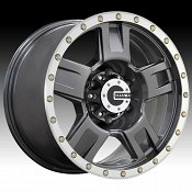 Mamba M18 Matte Graphite Machined Custom Wheels Rims