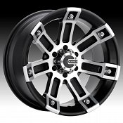 Mamba M1X Matte Black Machined Custom Wheels Rims