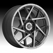 Mamba M20 Machined Black Custom Wheels Rims